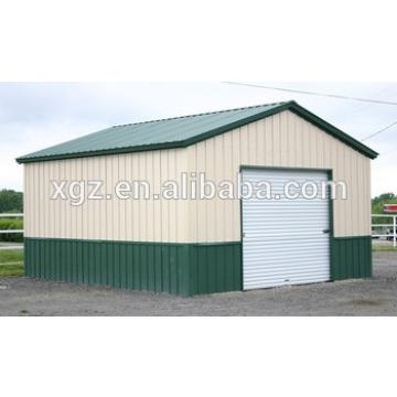 Steel Frame Galvanized Metal Garage with CE Certification