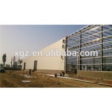 multi-span framework cheap standard steel structure warehouse