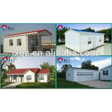 Low cost prefabricated house for tempary living