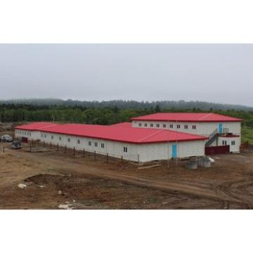 Design light steel structure house for workshop/Warehouse/office building