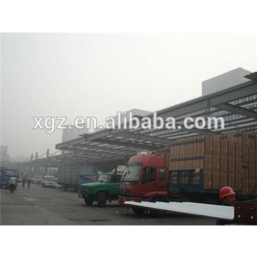 multi-span practical designed grain warehouse