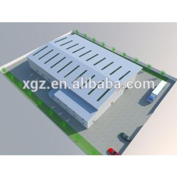 Low Cost Industrial Shed Designs Steel Structure Building 3D Warehouse