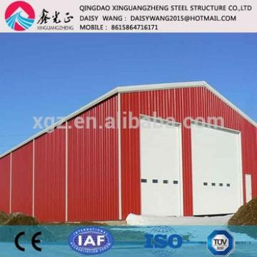 Manufacture storage pre engineered steel building