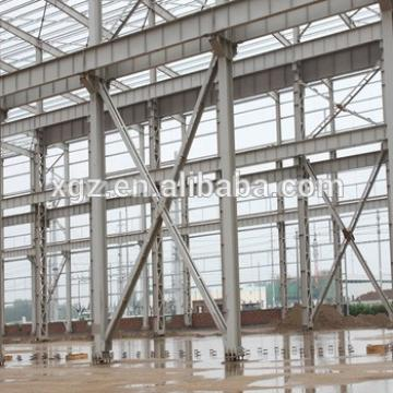 industry framework two-story steel structure building