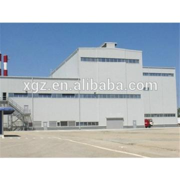 high strength well welded light steel structure industrial shed