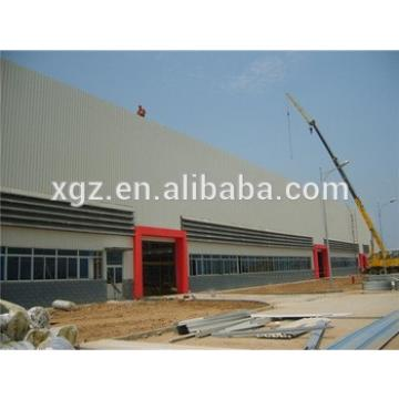 easy assembly with mezzanin large span steel structure