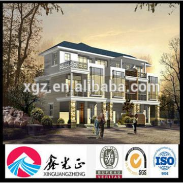 New Luxury Elegant Light Steel Villa