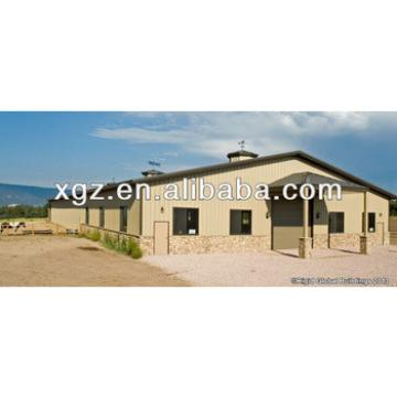 High Quality Steel Structure Anti-snow Horse Arena For Sale