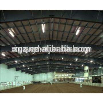 Prefabricated Steel horse riding arena hall for steel structure sport