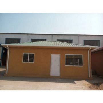 Prefab house with precast foam cement wall panel