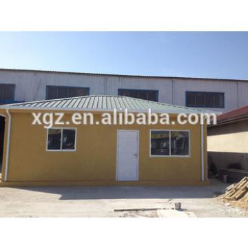Fiber cement eps sandwich panel prefabricated house