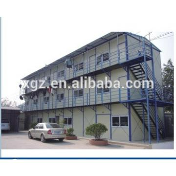 Steel Structure Prefabricated House for Temporary Dormitory
