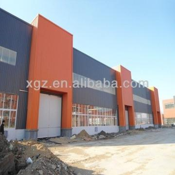 colour cladding steel frame steel structure warehouse & workshops