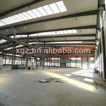 practical designed rockwool sandwich panel steel frame structure used workshop/shed/warehouse