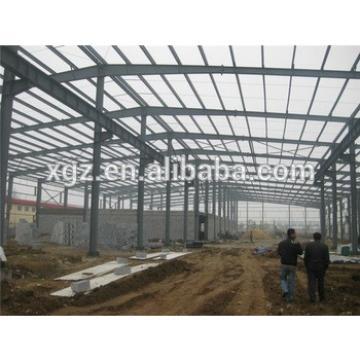 demountable structrual steel structure prefab workshops