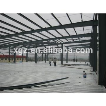 professional multipurpose steel structure double span workshop