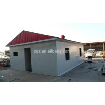 fast construction cheap steel structure prefab house