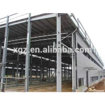 structrual large span galvanized steel workshop layout