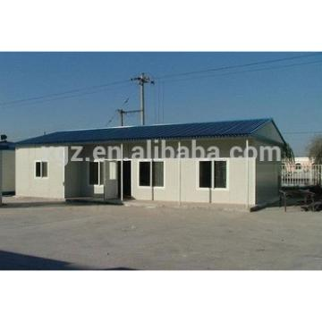 Modular movable steel prefabricated houses