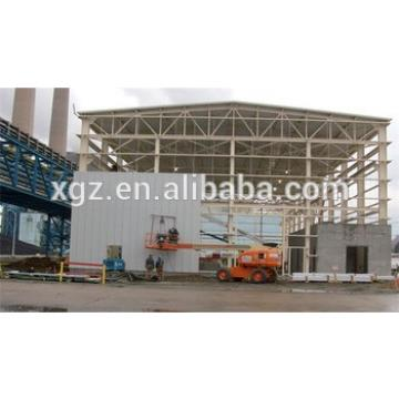 removable fast construction cheap ready-made steel structure workshop for sale
