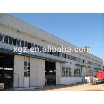 bolted connection light weight 1000m2 prefab steel frame factory workshop plan