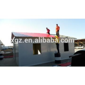 Cheap assembly light steel prefab house designs for Africa