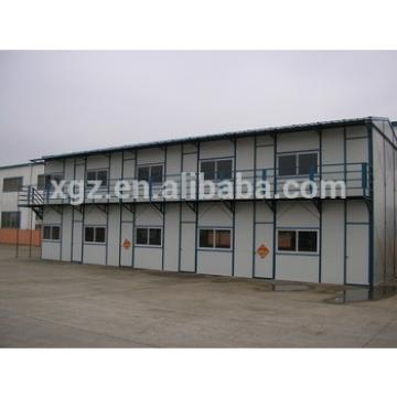 two storey prefab sandwich panel sheet metal houses