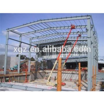 pre engineered practical designed steel metal fabrication car workshop