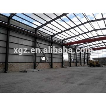 multi-span affordable galvanized steel construction workshop
