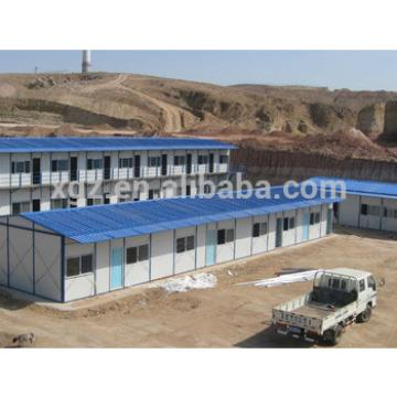Durable low cost prefab modular mining camp