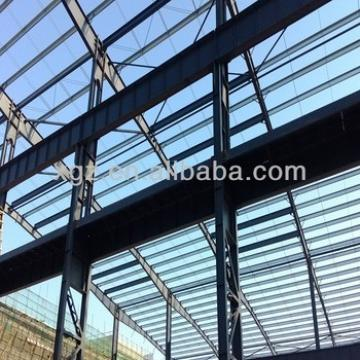 Economy steel structure frame construction