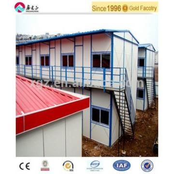 comfortable low cost prefabricated steel frame house