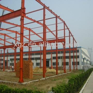Long Span Steel Structure Factory Shed