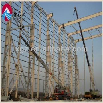 brick wall steel frame building for Construction Buildings