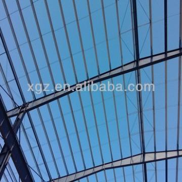 Steel warehouse hangar