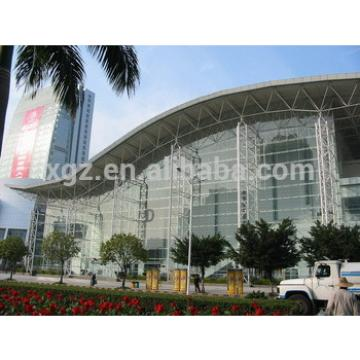 china prefabricated glass curtain steel building