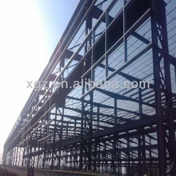 Steel structural of garage workshop