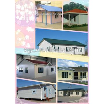high quality modernized cheap House Use and Steel Material luxury prefab house