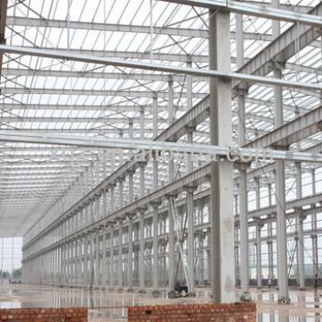 Pre-engineered Heavy Industrial Workshop Structure Steel Fabrication
