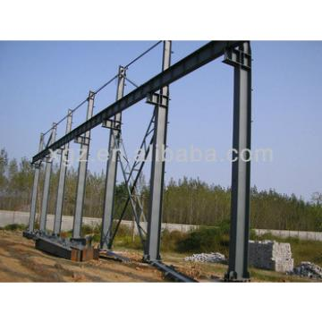 stable steel structure for warehouse
