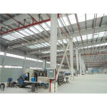 high strength pre-made sandwich type steel structure factory workshop