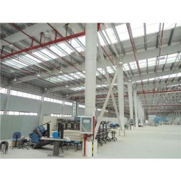 fast erection metal cladding tin sheet workshop