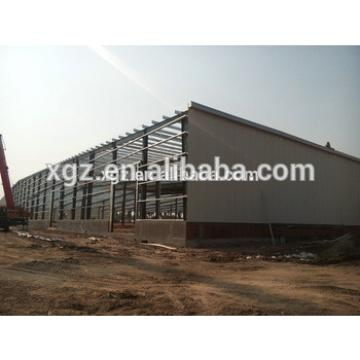 cheap structural steel prefabricated warehouse for Hisense logistics