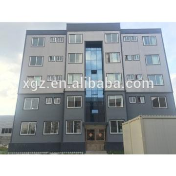 Prefabricated high rise steel structure building construction