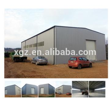Professional fabricated light steel frame warehouse construction