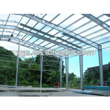 large steel structure green house farm