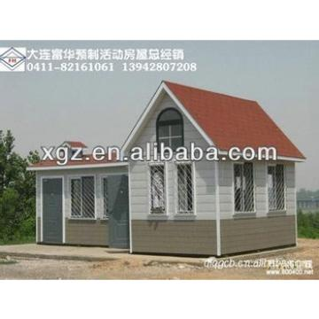 Hipped roof steel frame prefabricated house for sale