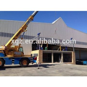 Africa Modular Steel Structure Construction Supermarket