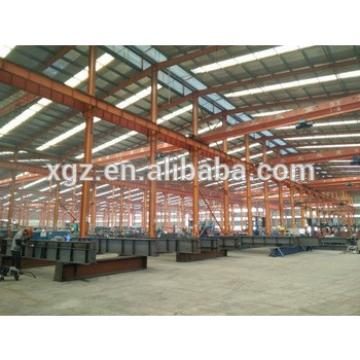 Long Span Industrial Design Prefabricated Warehouse Steel Structure
