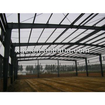 space frame steel structure galvanized sheet metal workshop